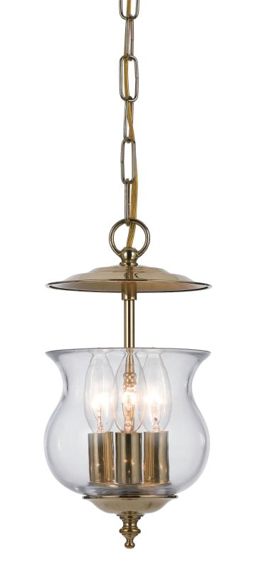 Crystorama Lighting Group 5717 Ascott 3 Light Foyer Pendant with Urn Sale $102.60 ITEM: bci1939236 ID#:5717-PB UPC: 633779016325 :