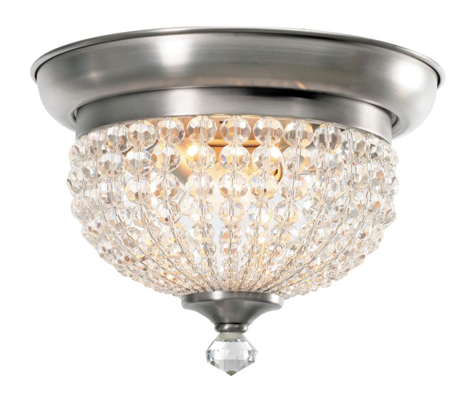 Crystorama Lighting Group 6742-AP Crystal Two Light Flushmount Ceiling Sale $191.10 ITEM: bci1798566 ID#:6742-AP UPC: 633779015014 :