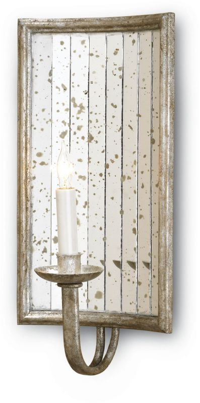 Currey and Company 5405 Twilight Wall Sconce Rectangle with