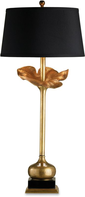 Currey and Company 6240 Metamorphosis Table Lamp with Black Shantung