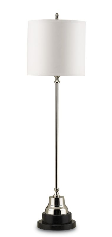 Currey and Company 6473 Messenger 1 Light Brass Table Lamp with Bone