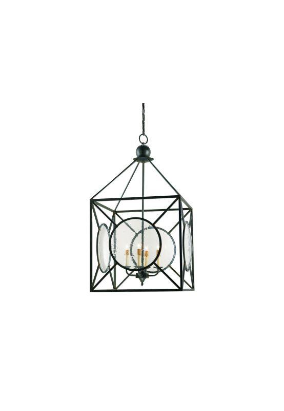 Currey and Company 9748 Four Light Beckmore Chandelier Old Iron Indoor Sale $1920.00 ITEM: bci2006728 ID#:9748 :