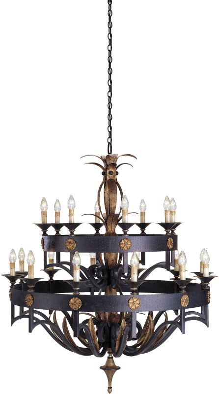 Currey and Company 9837 Camelot Chandelier Large with Customizable