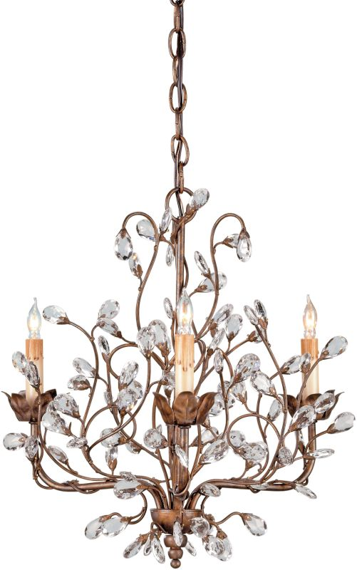 Currey and Company 9883 Crystal Bud Chandelier Small with