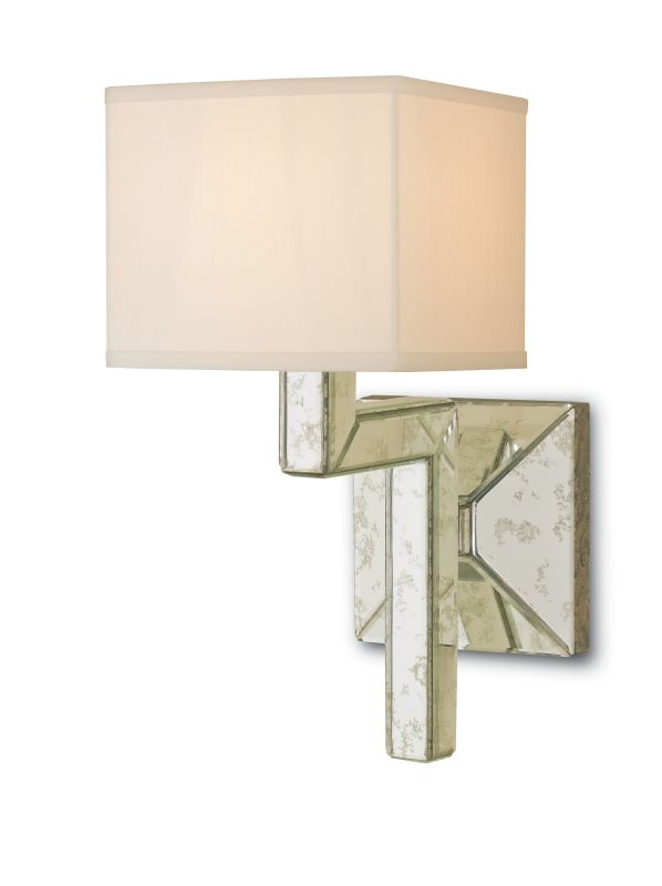 """Currey and Company 5159 Stellar 1 Light 16"""" High Wall Sconce Viejo"""