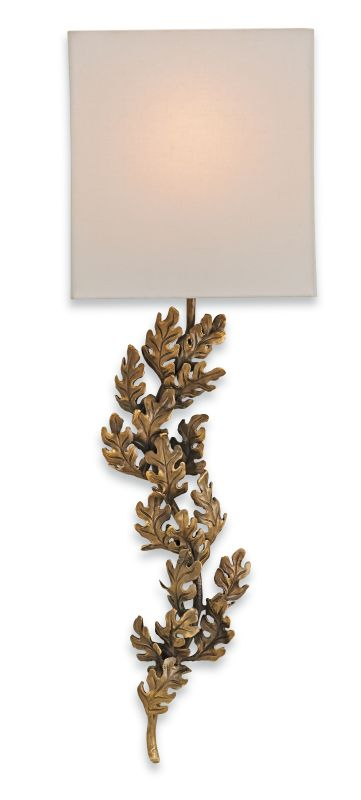 """Currey and Company 5912 Oakington 11"""" Wide Wall Sconce Bronze Indoor"""