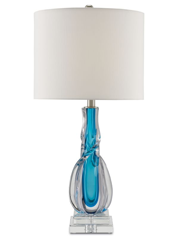 """Currey and Company 6000-0036 Antwerp Single Light 14"""" Wide Accent Lamp"""