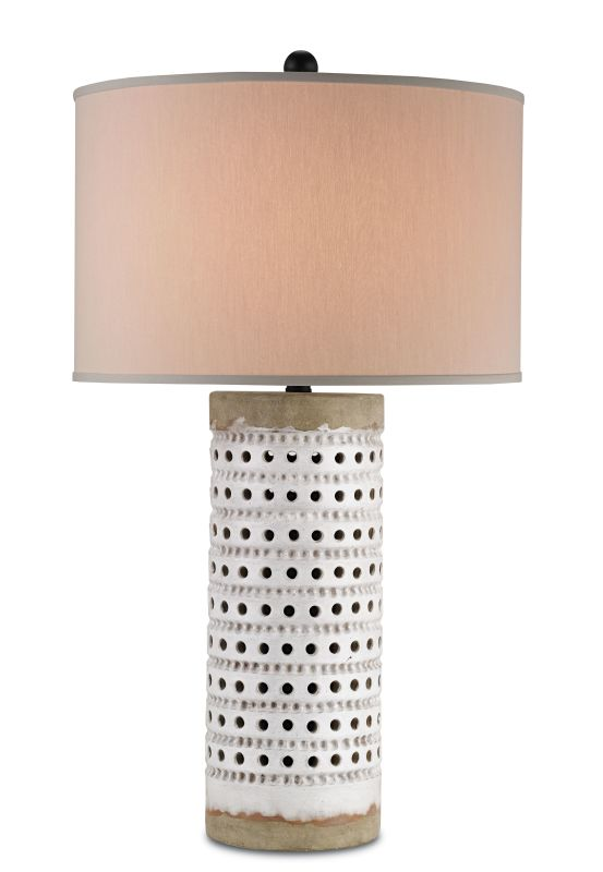 Currey and Company 6002 Terrace 1 Light Accent Table Lamp Antique