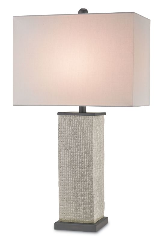 Currey and Company 6023 Reed 1 Light Accent Table Lamp Gray Lamps Sale $420.00 ITEM: bci2493376 ID#:6023 :
