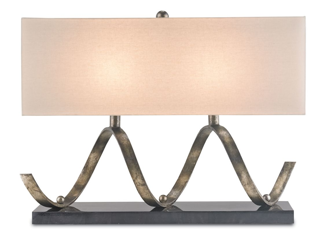 Currey and Company 6136 Maximus 2 Light Accent Table Lamp Pyrite Sale $1490.00 ITEM: bci2493389 ID#:6136 :