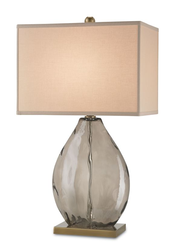 Currey and Company 6450 Brooke 1 Light Accent Table Lamp Coffee Brass Sale $460.00 ITEM: bci2493393 ID#:6450 :