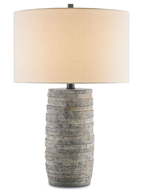 """Currey and Company 6782 Innkeeper 30"""" High Table Lamp Rustic Lamps"""