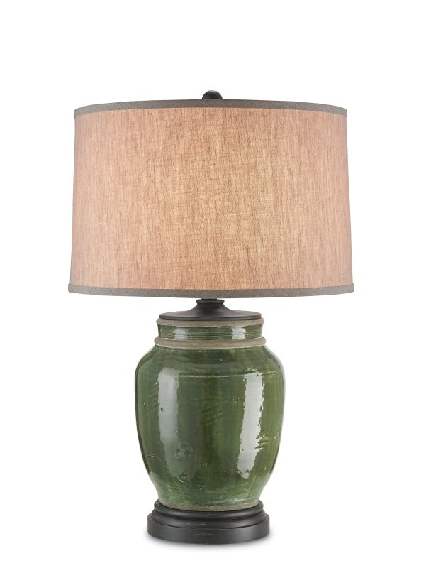 Currey and Company 6827 Carver 1 Light Accent Table Lamp Green Lamps Sale $600.00 ITEM: bci2493408 ID#:6827 :