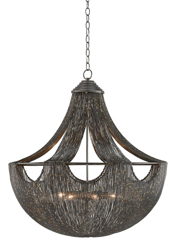 "Currey and Company 9000-0018 Eduardo 6 Light 30"" Wide Chandelier with Sale $2990.00 ITEM: bci2909581 ID#:9000-0018 :"