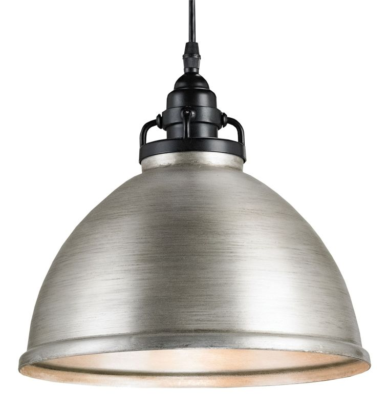 Currey and Company 9207 Satin Black Industrial NULL Pendant