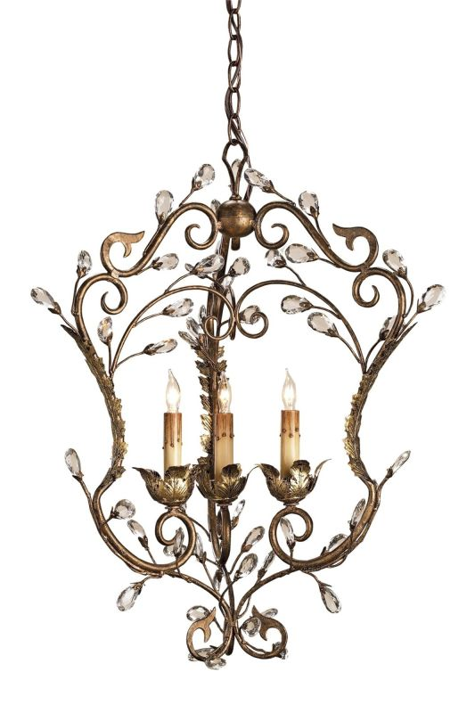 Currey and Company 9225 Melody Chandelier with Customizable Shades
