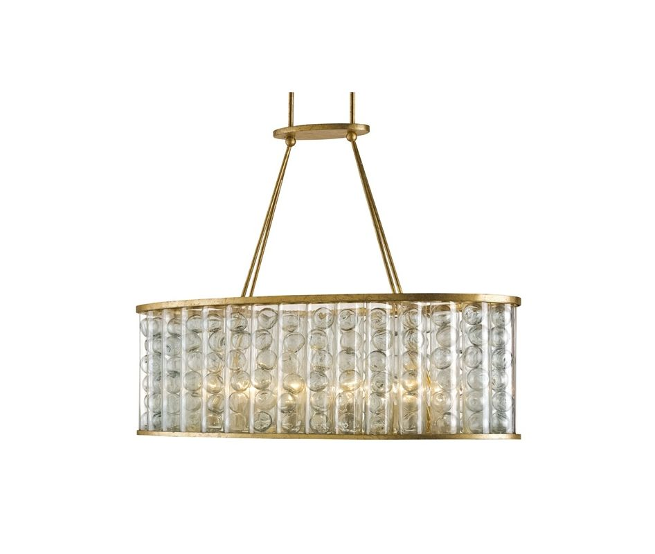 Currey and Company 9313 Frinton 10 Light 1 Tier Chandelier Dutch Gold
