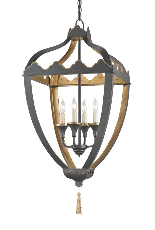 Currey and Company 9341 Beaumont 4 Light Full Sized Pendant Bel Air