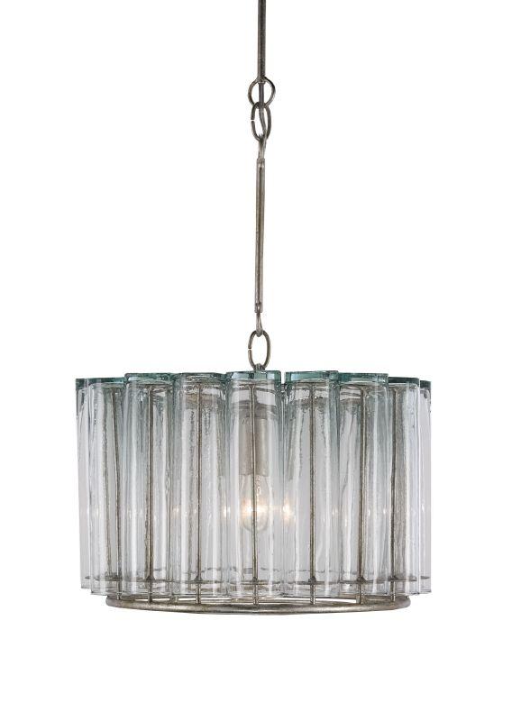 Currey and Company 9375 Bevilacqua 1 Light Full Sized Pendant Silver
