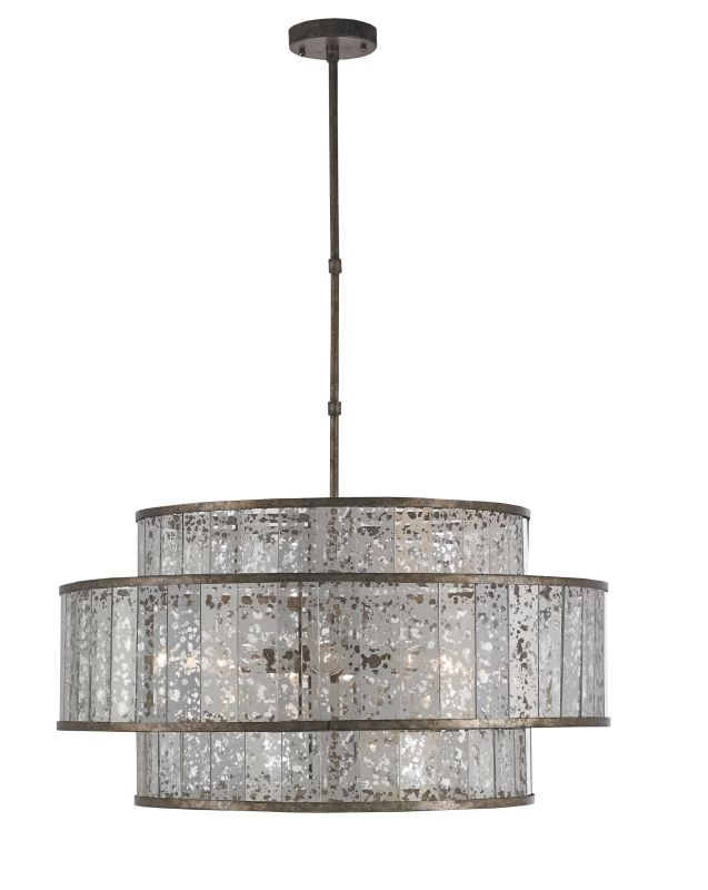 currey and company 9454 pyrite bronze fantine 8 light drum pendant. Black Bedroom Furniture Sets. Home Design Ideas