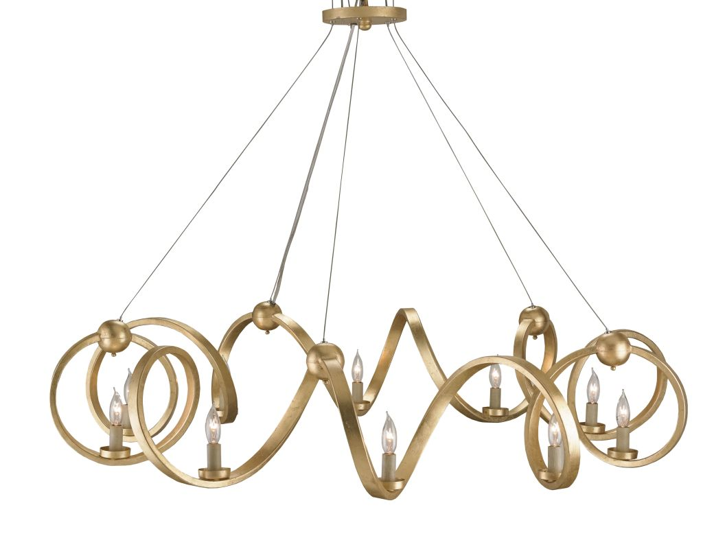 currey and company 9490 contemporary gold leaf ringmaster 10 light 0. Black Bedroom Furniture Sets. Home Design Ideas