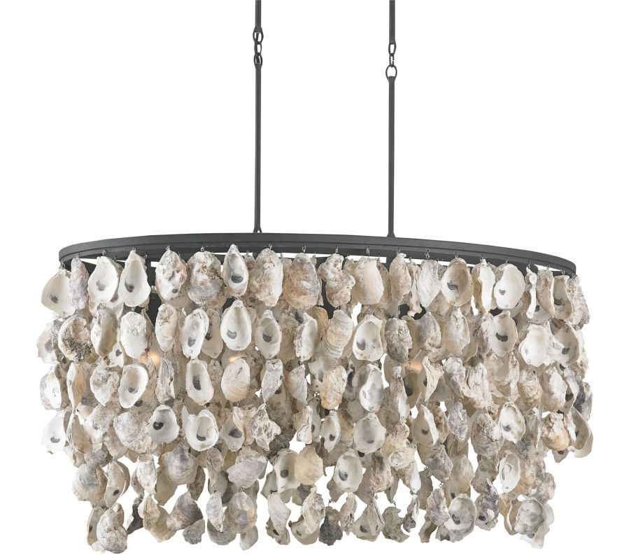 """Currey and Company 9492 Stillwater 5 Light 20"""" High 1 Tier Chandelier"""