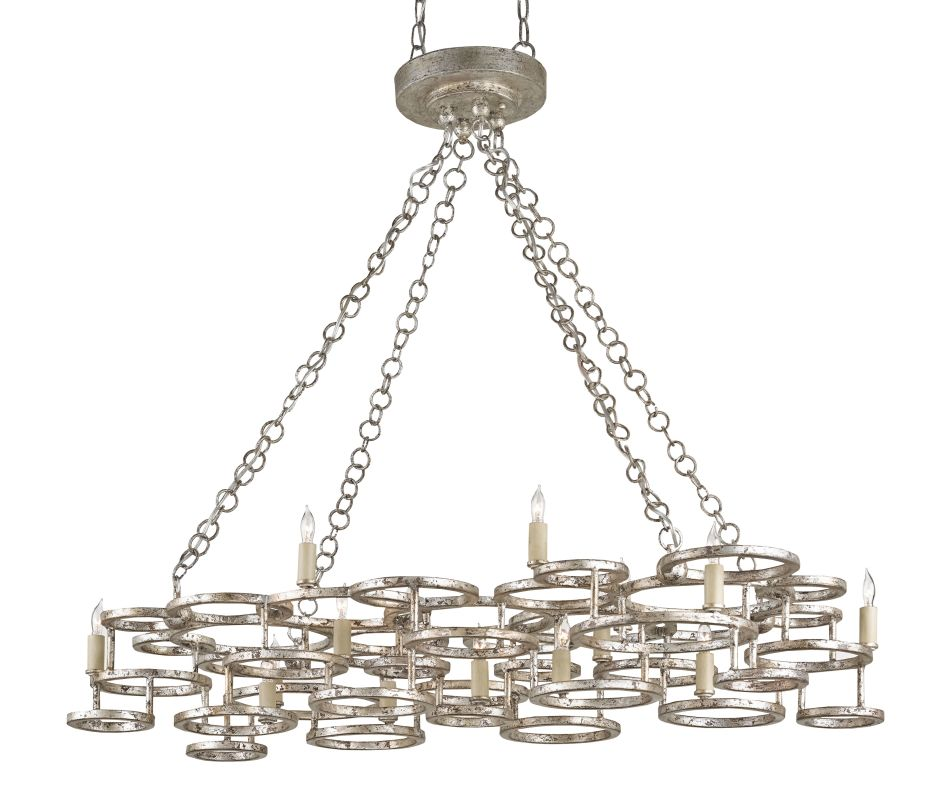 Currey and Company 9572 Catalyst 15 Light Candle Style Chandelier