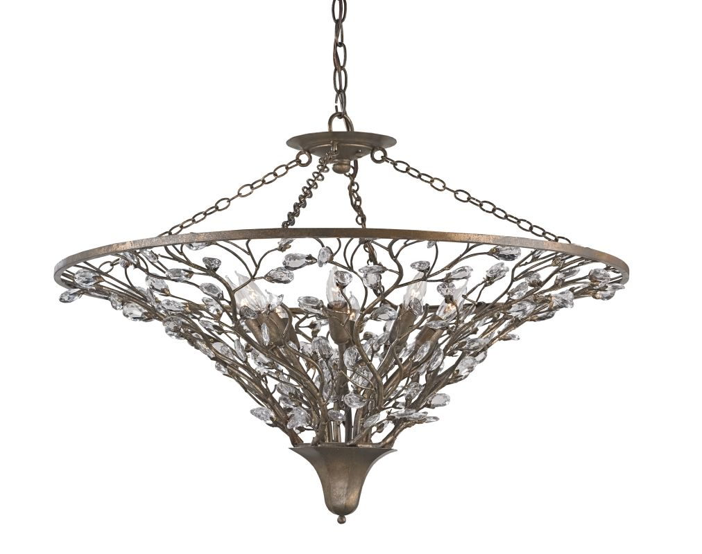 Currey and Company 9610 Giselle 8 Light 1 Tier Chandelier Cupertino