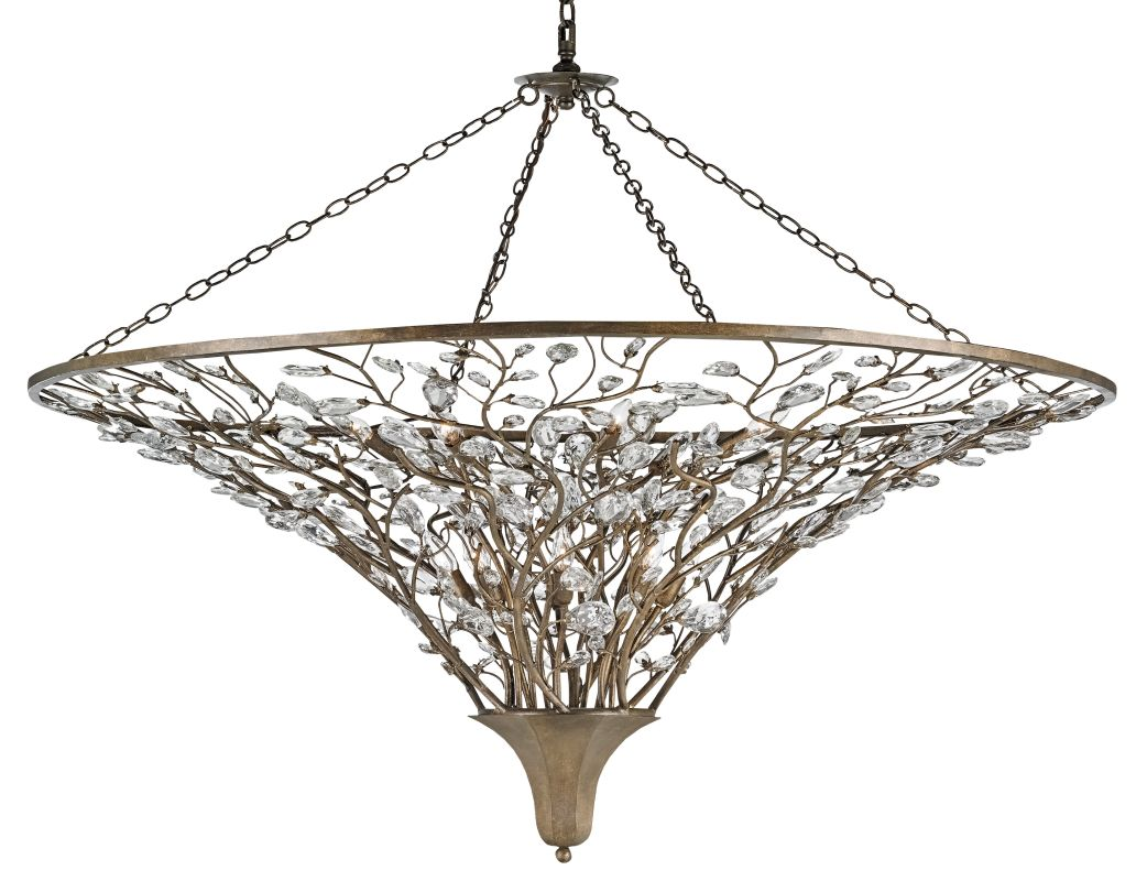 Currey and Company 9612 Giselle 16 Light 2 Tier Chandelier Cupertino