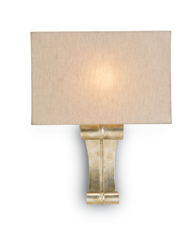 Currey and Company 5092 Antechamber 1 Light Wall Sconce with Natural