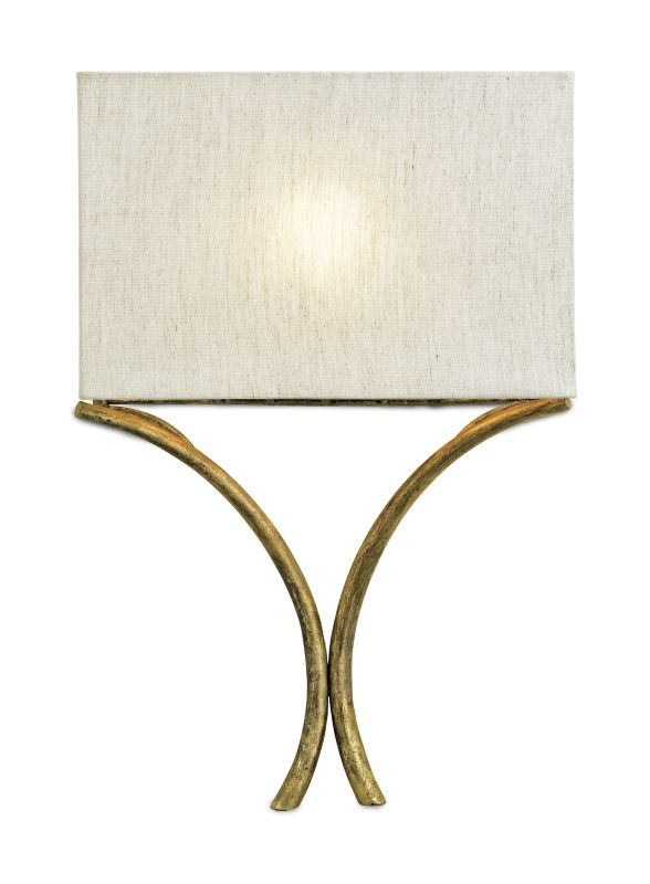 "Currey and Company 5901 Cornwall 18""H 1 Light ADA Wall Sconce with"