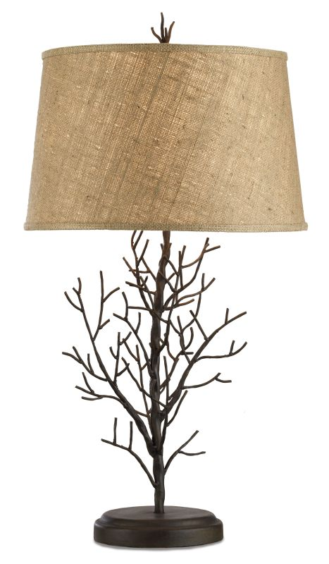 "Currey and Company 6017 Midwinter 31""H 1 Light Table Lamp with Natural"