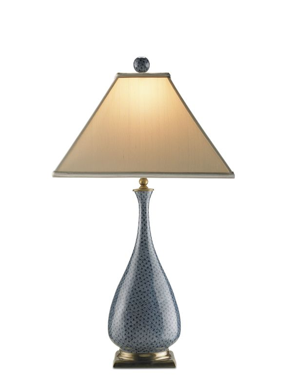 "Currey and Company 6159 Courtship 28""H 1 Light Table Lamp with Tapered"