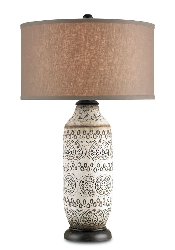 Currey and Company 6350 Intarsia 1 Light Table Lamp with Terracotta Sale $470.00 ITEM: bci1978578 ID#:6350 :
