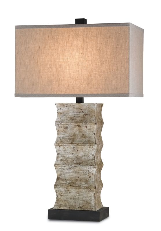 Currey and Company 6462 Wootton 1 Light Table Lamp Distressed Black / Sale $620.00 ITEM: bci2131413 ID#:6462 :