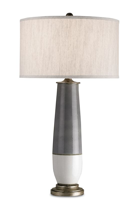 Currey and Company 6905 Urbino 1 Light Table Lamp with Two Tone