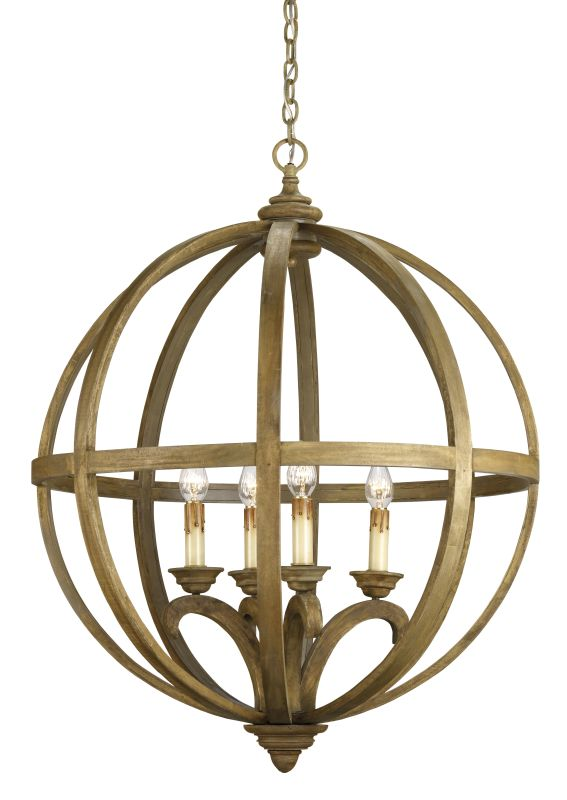 """Currey and Company 9015 Axel Orb 41""""H 4 Light Chandelier with Optional Sale $2370.00 ITEM: bci1763926 ID#:9015 :"""