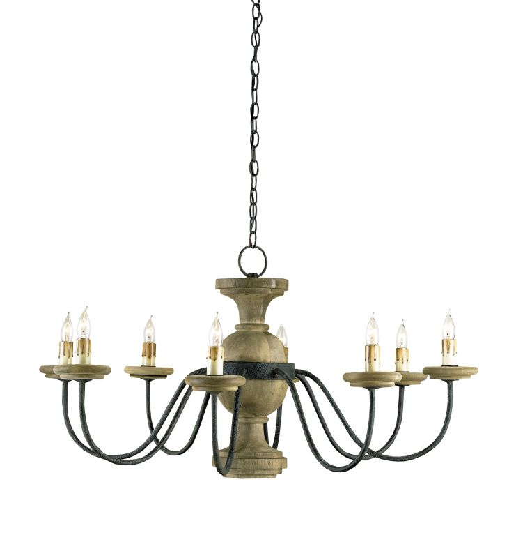 Currey And Company Lighting Website: Currey And Company 9766 Mole Black / Natural Treesmill 8