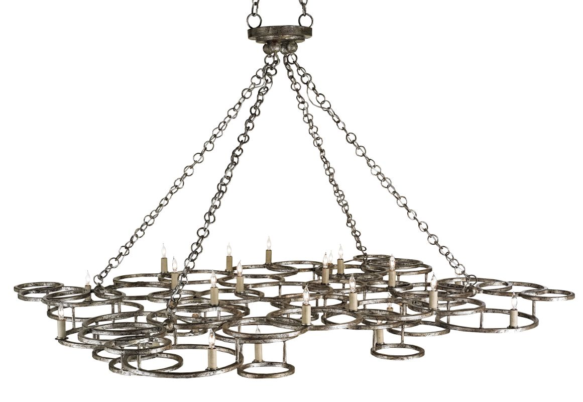 Currey and Company 9988 Catalyst 24 Light Chandelier Annatto Antique