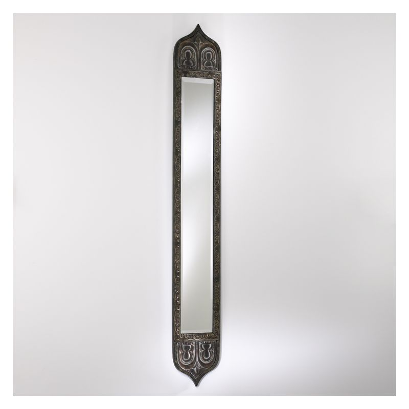 Cyan design 01338 rustic with verde 55 skinny tall mirror for Tall skinny mirror