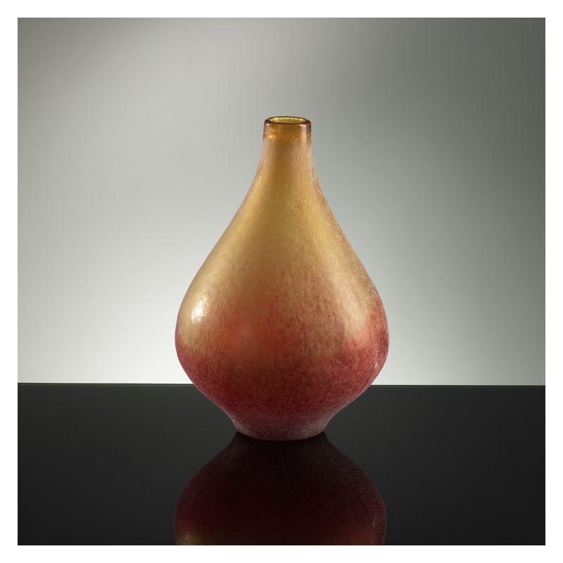 "Cyan Design 01668 13.75"" Medium Vizio Yellow And Orange Vase Yellow"