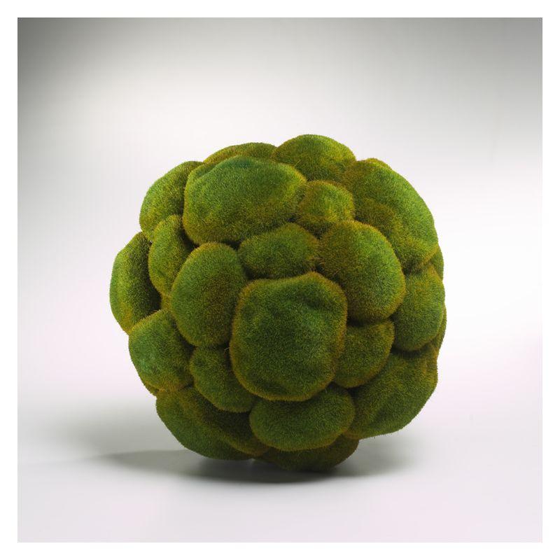 Cyan Design 01768 Medium Moss Sphere Moss Green Home Decor Bowl & Vase