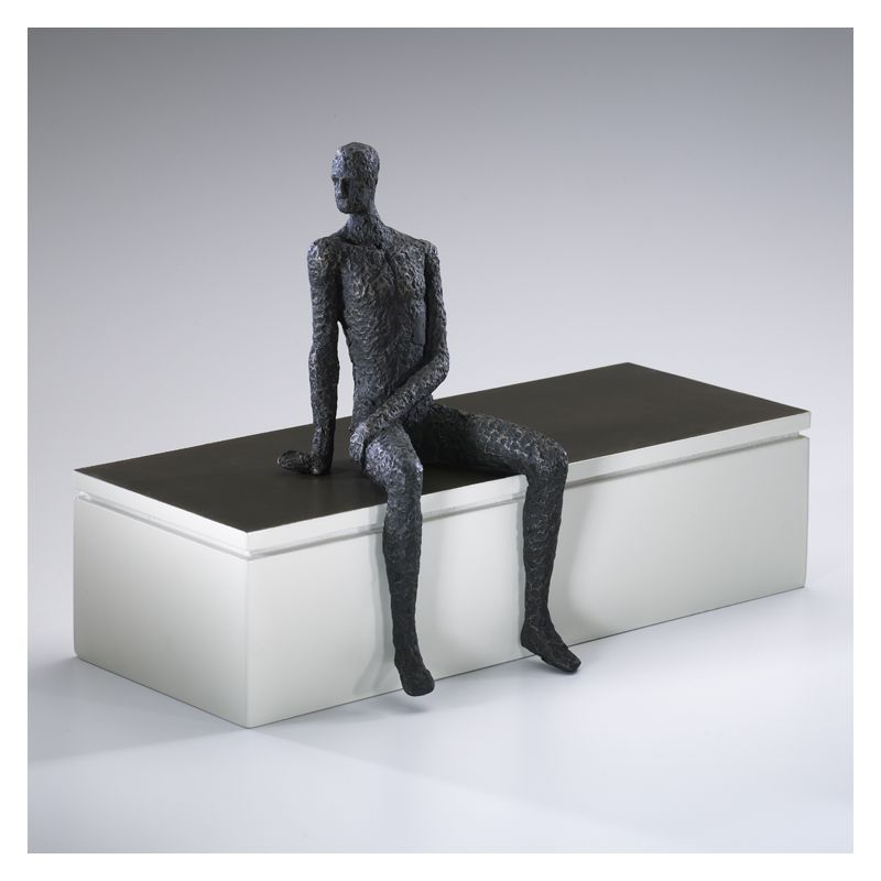 "Cyan Design 01902 11"" Posing Man Shelf Decor Old World Home Decor"