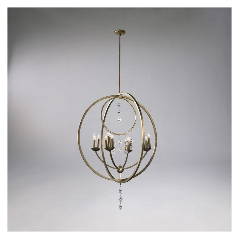 "Cyan Design 02618 47"" Emilia Sixteen Light Chandelier from the Emilia"