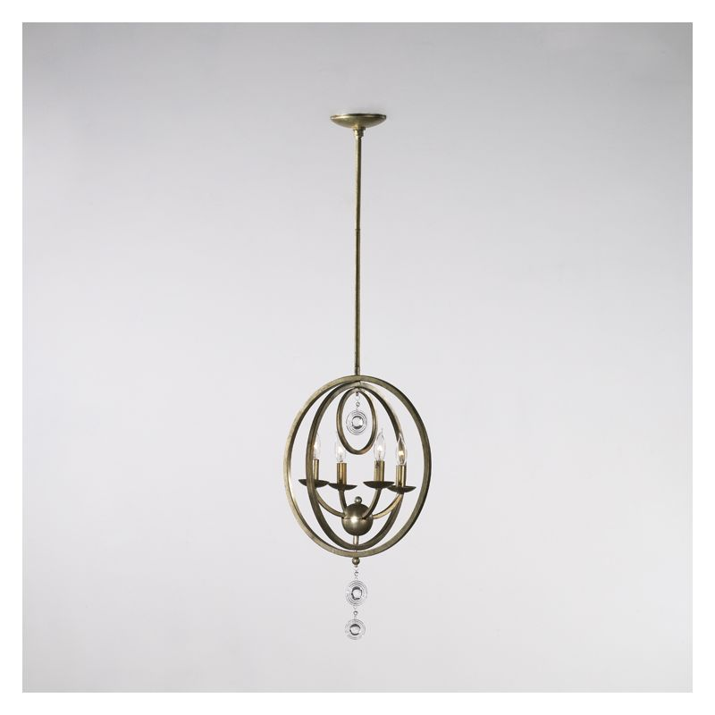 "Cyan Design 02619 24"" Emilia Four Light Chandelier from the Emilia"