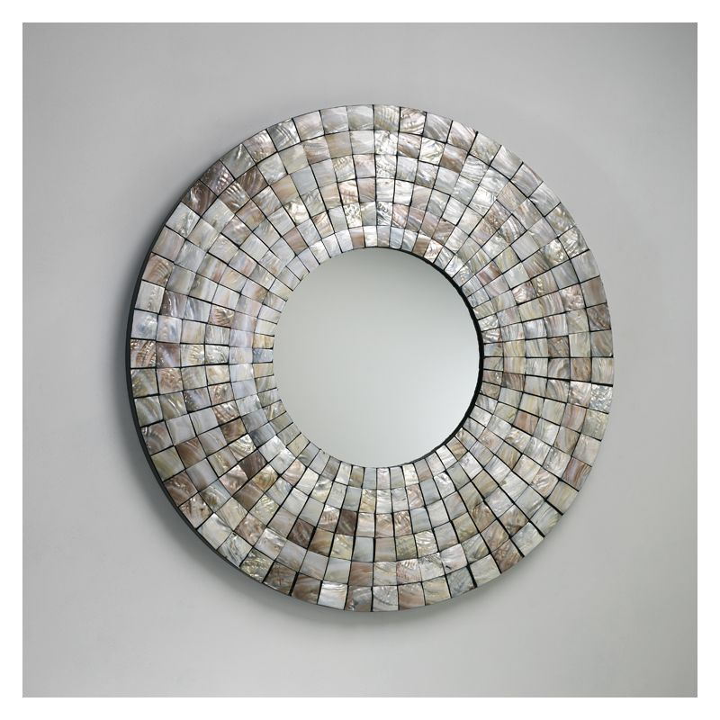 Cyan Design 02798 Mosaic Tile Mirror Capiz Shell Home Decor Lighting