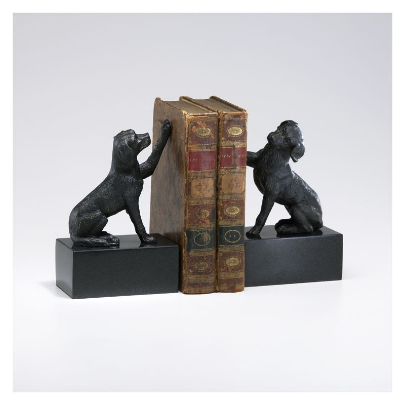 """Cyan Design 02817 8.25"""" Dog Bookends Home Decor Bookends"""