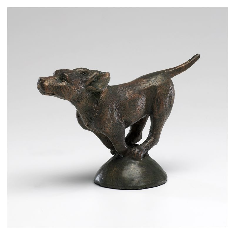 "Cyan Design 02835 4.75"" Running Dog Byzantine Oxide Home Decor Statues"