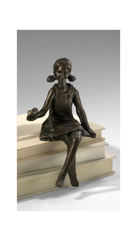 "Cyan Design 03042 8"" Girl Shelf Figurine Home Decor Statues &"
