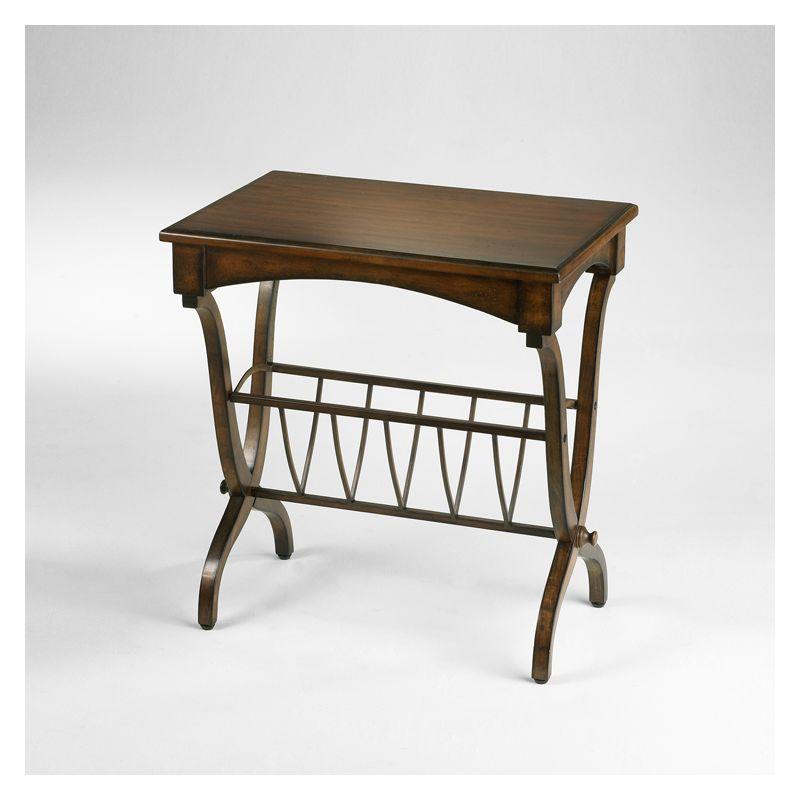 "Cyan Design 04008 25.25"" Bentley Magazine Table Furniture End"